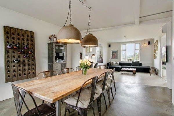 Arredamento Interni Loft : Interni di stile industriale living ...